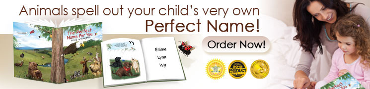 The Perfect Name for You: Personalized Book